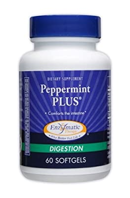 Enzymatic Therapy - Peppermint Plus, 60 softgels