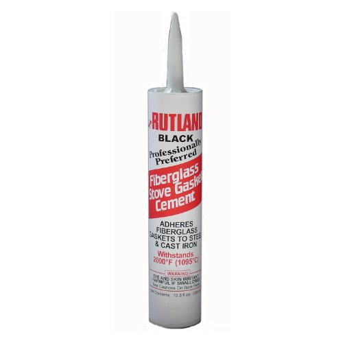 For Sale! Rutland Fiberglass Gasket Cement (Ez Spread)  10.3 Oz Cartridge