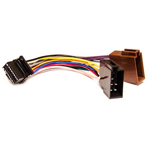 Radio-Adapter-ALPINE-CDE-CDM-CDA-Radiokabel-ISO-DIN-Stecker-Anschlusskabel