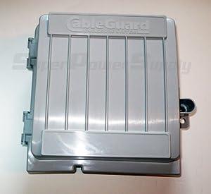 Cableguard cg 1000xl coax demarcation enclosure outdoor - Sealing exterior electrical boxes ...