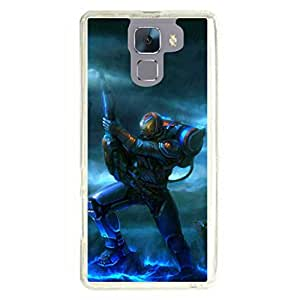 a AND b Designer Printed Mobile Back Cover / Back Case For Huawei Honor 7 (HON_7_1160)