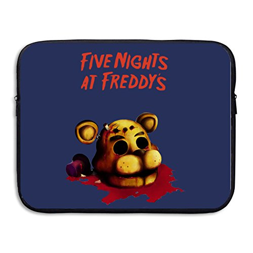 [JOSENCE 5Nights At Freddy's FNaF Video Games Anti-shock Notebook Zipper Case Size 13 Inch] (Traveling Circus Costume)