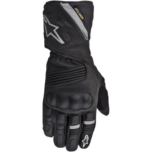 Alpinestars WR-3 Gore-Tex Men's Waterproof Sports Bike Motorcycle Gloves - Black / Medium