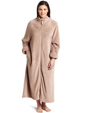 Breakaway Zipper Robe at Amazon Women's Clothing store: Bathrobes
