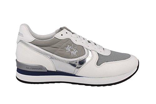 LA MARTINA scarpa bianca L1140256 saffiano 40 Bianco