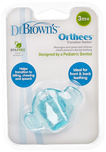 Dr. Brown's Orthees Transition Teether - Light Blue - 1
