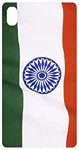 Beautiful Indian Flag Photo Back Cover Case for Sony Xperia Z2