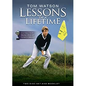 Tom Watson Lessons of a LifeTime Golf 2 Disk DVD