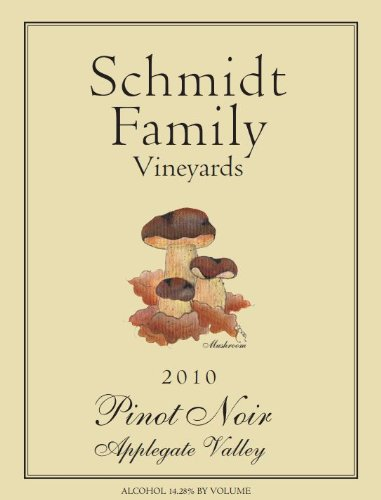 2010 Schmidt Family Vineyards Pinot Noir 750 Ml