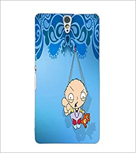 PrintDhaba Cartoon D-5868 Back Case Cover for SONY XPERIA C5 ULTRA (Multi-Coloured)