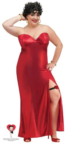 Betty Boop Adult Plus Size Dress Costume