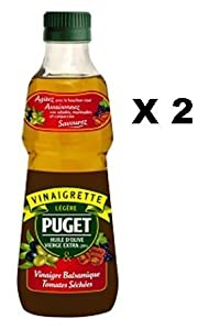Puget Balsamic Vinaigrette with Sun-Dried Tomatoes - x 2 plastic bottles