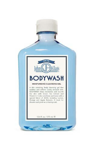 John Allan's Bodywash - Moisturizing Cleansing Gel