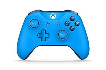 Xbox One ワイヤレスコントローラー (ブルー)
