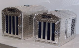 diamond deluxe aluminum dog crate dog carrier dog house by punk hollow country kennel llc