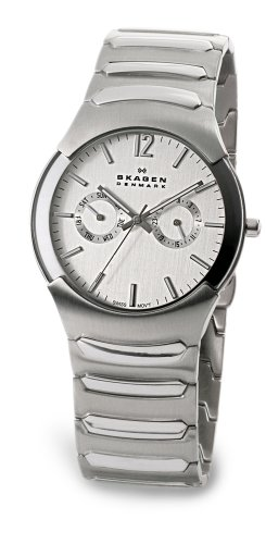 Swiss Watches:Skagen Men's Swiss Stainless Steel Watch #583XLSXC Images