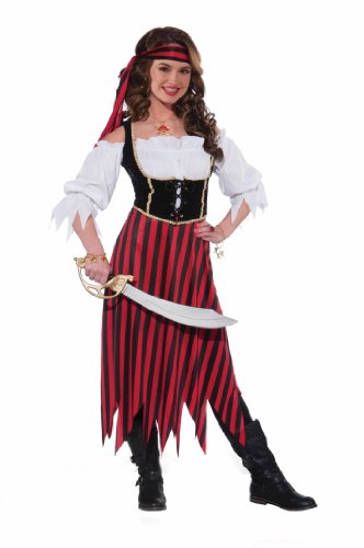 Forum Novelties Women's Teenz Pirate Maiden Costume