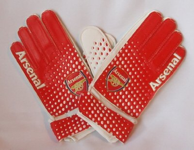 Arsenal FC Official Childrens Goalkeeper Gloves