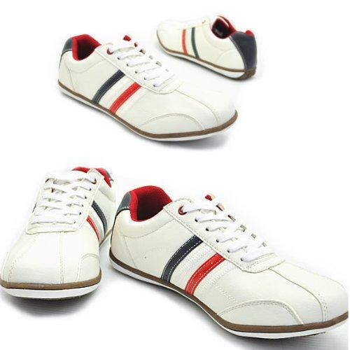 豊天商店【ブーデンショウテン】スポーツ/スニーカー/紐靴/N51005 WH/TRC 260