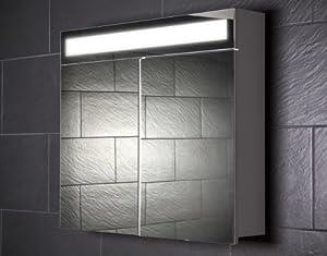 spiegelschrank galdem even80 badezimmerschrank 80cm 2 t rig mit beleuchtung t5. Black Bedroom Furniture Sets. Home Design Ideas
