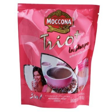 Moccona ,Trio Plus in Shape Slimming Coffee 3 in 1 180g (18g x 10 Sachets)