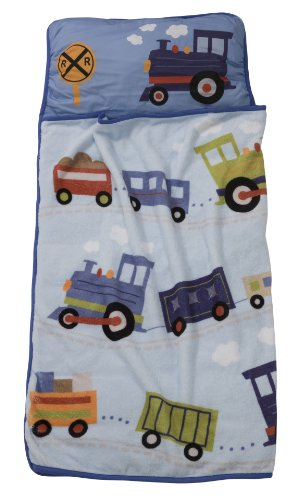 More image Lambs & Ivy Train Nap Mat
