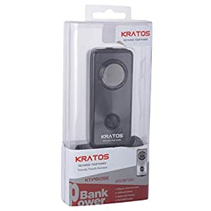 Kratos Power Bank for All mobile phones/PC/Tablet/iPad/iPod/mp3/mp11 (Black)