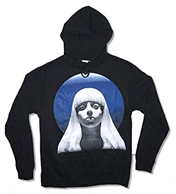 Lady Gaga Gazing Pic Artpop Tour Black Adult Sweatshirt Hoodie
