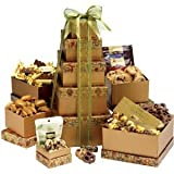 Gift Tower Deluxe, Gourmet Chocolate Birthday Gift Basket