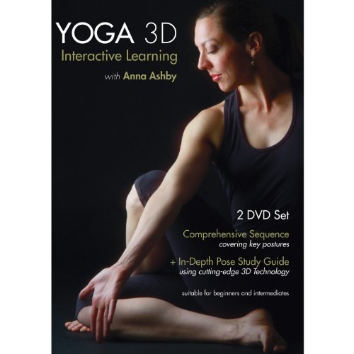 Yoga 3D, Interactive learning with Anna Ashby, 2 DVD set (2012)
