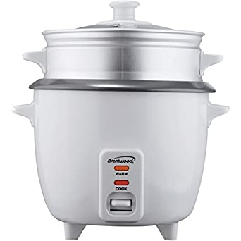 Brentwood rice cooker with steamer 5 cups 400w product for Types of kitchen appliances