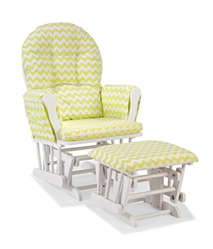 Baby Glider And Ottoman front-113818
