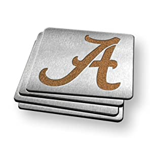 Sportula Products 7015729 Alabama Crimson Tide  Boaster Coaster