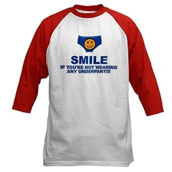 Artsmith, Inc. Baseball Jersey Smile If You