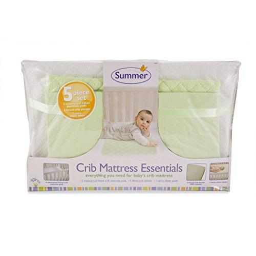 Summer Infant 5-Piece Essentials Crib Mattress, Green
