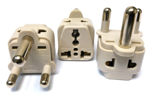CKITZE BA-10L-3P Grounded Universal 2-in-1 Type M Plug Adapter - 3 Pack (Air Conditioner In India compare prices)