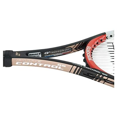 Babolat 101203-144 Pure Control 95 GT Unstrung Tennis Racquet, 4 3/8 (Black/Red)