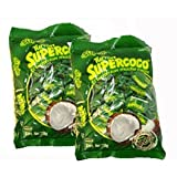 Supercoco Turron Con Mucho Coco 400 Gr. 2-pack