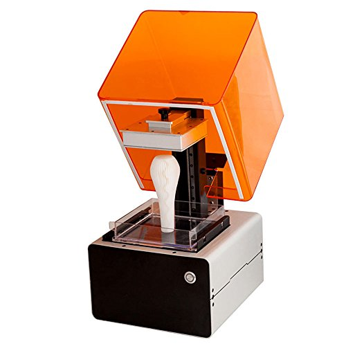 SUNLU SLA Desktop 3D Printer, Optimized Build Platform, USB Connection (Off-line printing is available), Works with Acrylate Resin, Jewelry Business Modeling the Best Printer (Printer Resin compare prices)