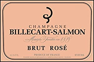 NV Billecart Salmon Brut Rose, Champagne 750 mL