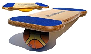 CoolBoard Balance Board Original Package - Large incl. Balance Disc, an advanced Wobble Board
