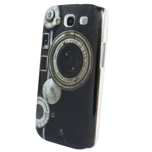 Sannysis 1Pc Retro Antique Looking Old Camera Hard Case For Samsung Galaxy S3 I9300