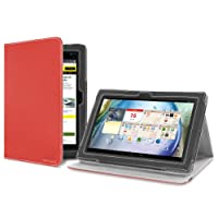 Version Stand Case for Lenovo IdeaTab S6000 - Red