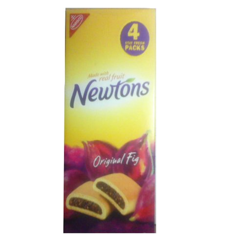 Newtons Original Fig Chewy Cookies Made with Real Fruit 4 Pack 2 Lb
