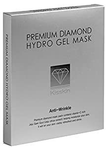 Paraben-free Korean Sheet Mask by Kisskin: Alcohol-free, Oil-free, Sulfate/phthalate-free, Hypoallergenic. Enjoy Beauty Spa in a Box (5 Sheets) for Anti-aging, Moisturizing, and Skin Whitening Effects.