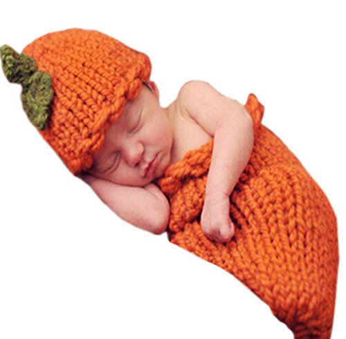 [UpdateClassic Infant Baby Knitting Phtography Props Costume 0-3 Month] (Infant Goat Costumes)