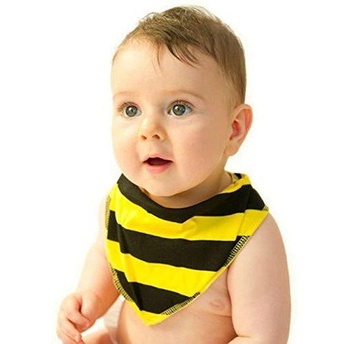 NOO-Bavaglino a Bandana, a forma di ape, 0-18 mesi