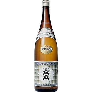 銀嶺立山・吟醸・1800ml 15.6度 ×1本