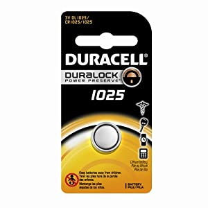 Duracell 1025 3v Watch/Electronic 1 Battery (Pack of 72)