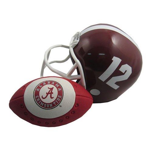 Alabama Crimson Tide NCAA Helmet & Football Set